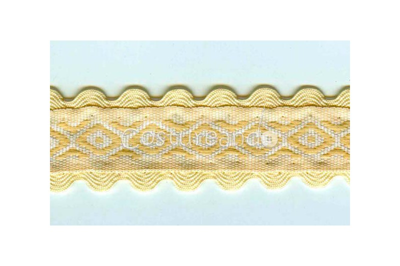RIC RAC RIBBON COVER SEWING 008