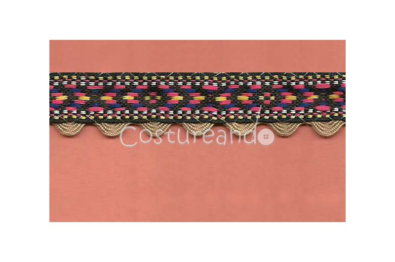 RIC RAC RIBBON COVER SEWING 009
