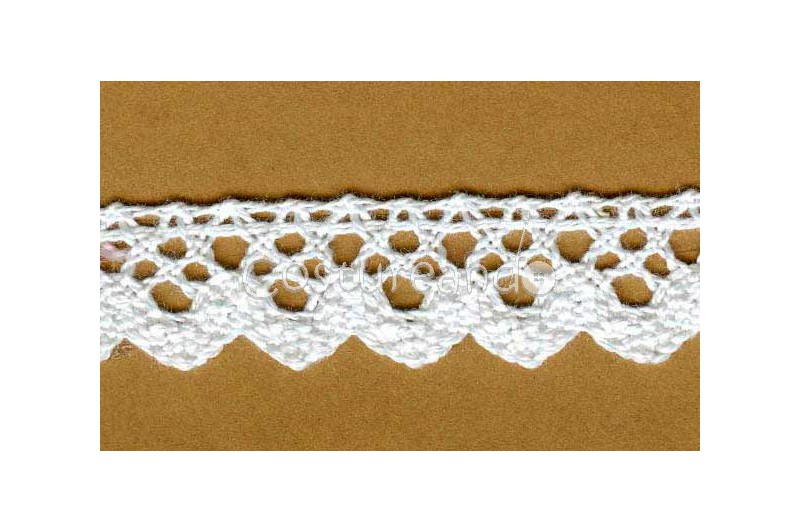 COTTON BOBBIN LACE 001