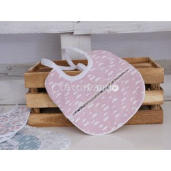 PINK CLOUD BIB