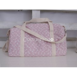 BLUE  SMALL ZIGZAG  BIG BABY CHANGING BAG