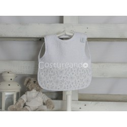 GREY BIRDS T-SHIRT BIB