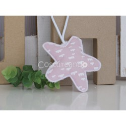 PINK FLOWER HANGING DUMMY