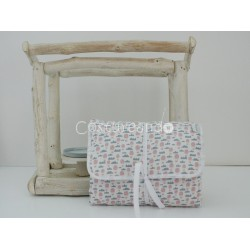 PINK BALOONS BABY DIAPER CHANGER