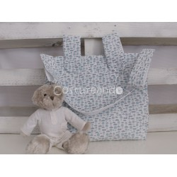 PINK ZIG ZAG BABY CHANGING BAG