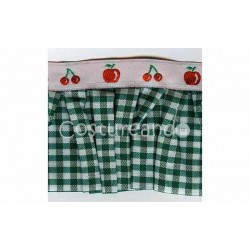 BOX PLEAT KITCHEN MOTIFS TRIM 010