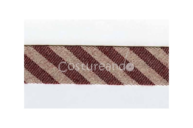 STRIPES BIAS BINDING 016