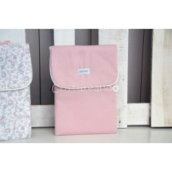 PLAIN PINK BABY NAPPY BAG