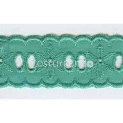 COLOURED EYELET EMBRODERY INSERTION 001