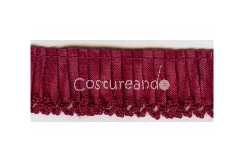 GATHERED TRIM PICOT EDGED 001