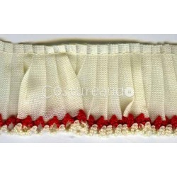 GATHERED TRIM PICOT EDGED 004