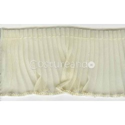 GATHERED TRIM SCALLOPED EDGED 003