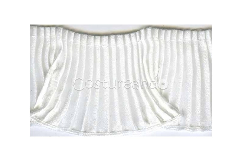 GATHERED TRIM SCALLOPED EDGED 005