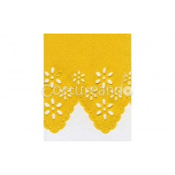 SATIN DIE CUT RIBBON 001