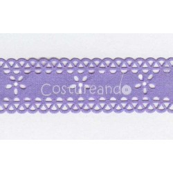 SATIN DIE CUT RIBBON 006