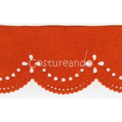 SATIN DIE CUT RIBBON 009