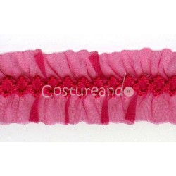 RUFFLED SHEER RIBBON 002