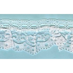 RUFFLE NYLON LACE TRIM 001
