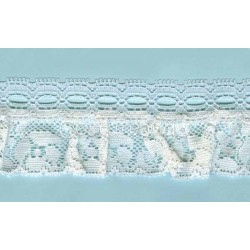 RUFFLE NYLON LACE TRIM 003