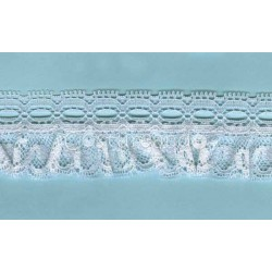 RUFFLE NYLON LACE TRIM 004