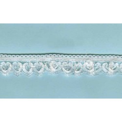 RUFFLE NYLON LACE TRIM 005