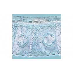 RUFFLE NYLON LACE TRIM 006