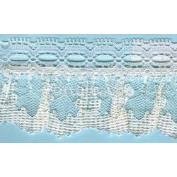 RUFFLE NYLON LACE TRIM 008
