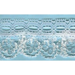 RUFFLE NYLON LACE TRIM 009