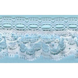 RUFFLE NYLON LACE TRIM 010