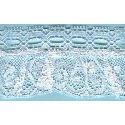 RUFFLE NYLON LACE TRIM 011