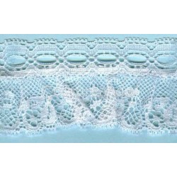 RUFFLE NYLON LACE TRIM 012