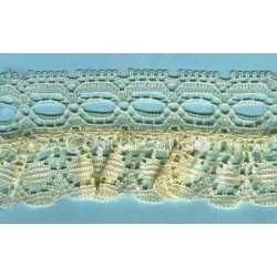 RUFFLE NYLON LACE TRIM 013