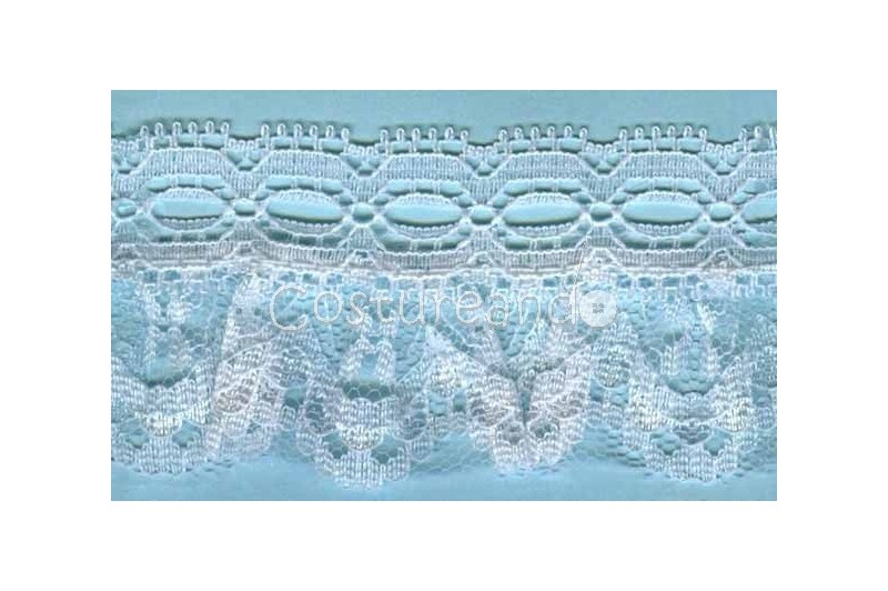 RUFFLE NYLON LACE TRIM 015