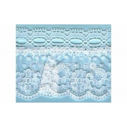 RUFFLE NYLON LACE TRIM 016