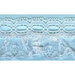 RUFFLE NYLON LACE TRIM 017