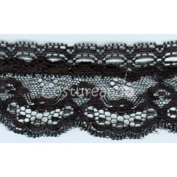 RUFFLE NYLON LACE TRIM 020