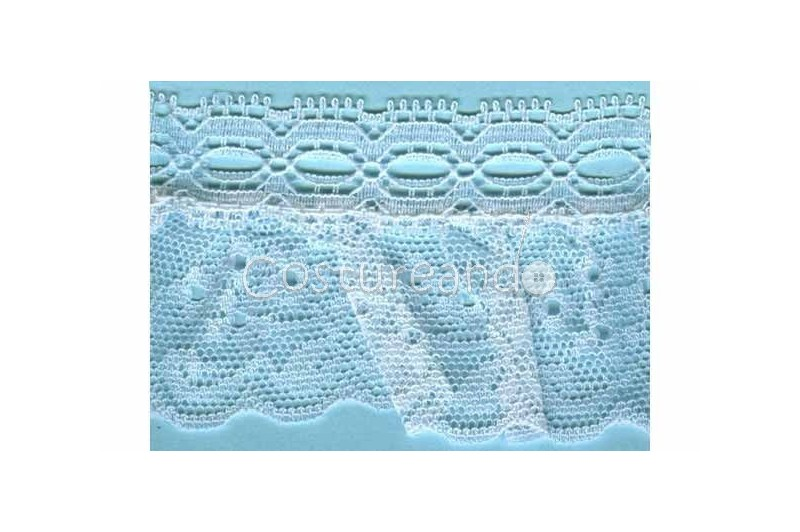 RUFFLE NYLON LACE TRIM 022