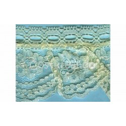 RUFFLE NYLON LACE TRIM 023
