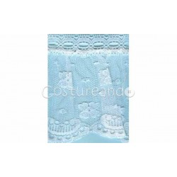 RUFFLE NYLON LACE TRIM 024