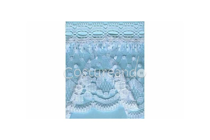 RUFFLE NYLON LACE TRIM 025