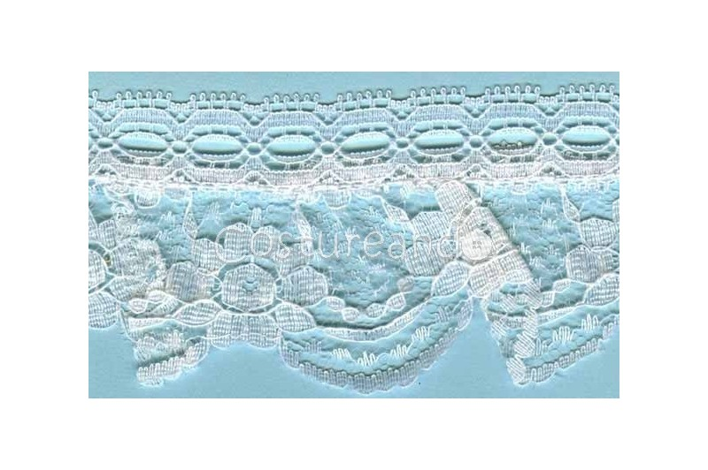 RUFFLE NYLON LACE TRIM 027
