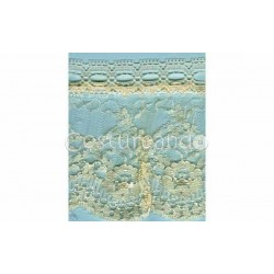 RUFFLE NYLON LACE TRIM 028