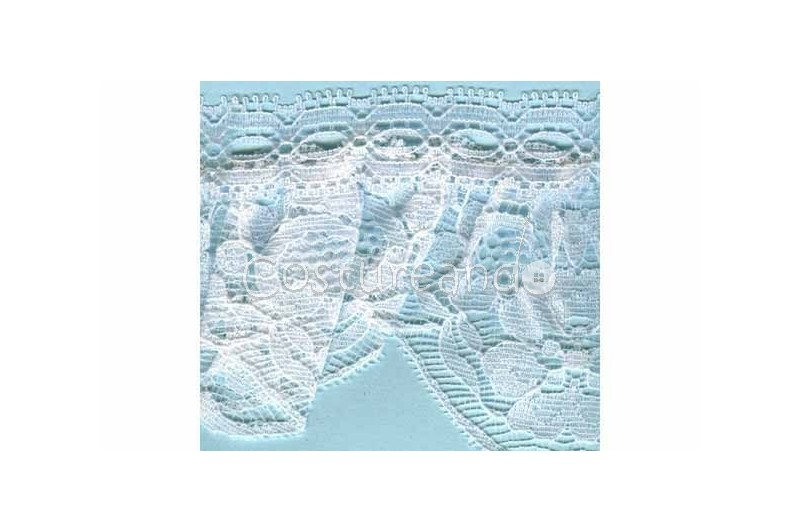 RUFFLE NYLON LACE TRIM 032