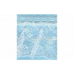 RUFFLE NYLON LACE TRIM 033