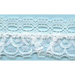 RUFFLE NYLON LACE TRIM 036