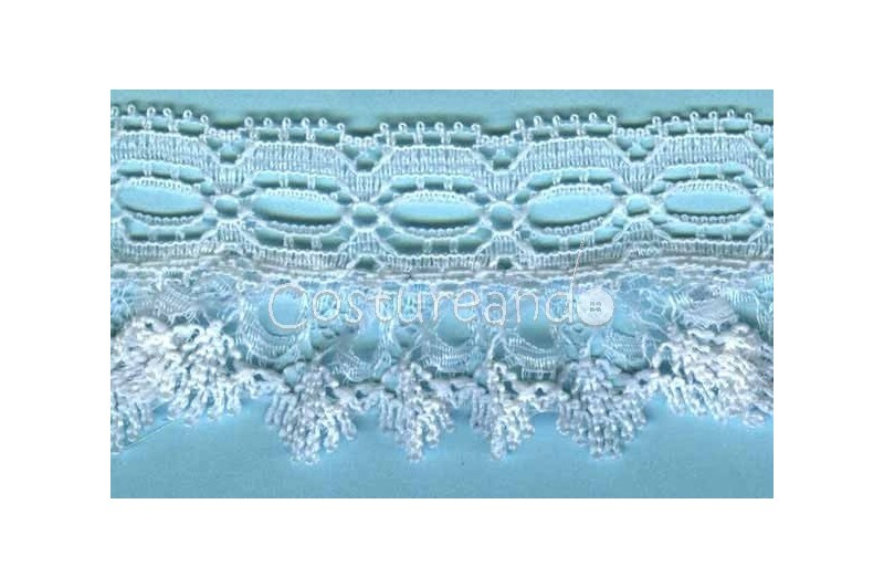 RUFFLE NYLON LACE TRIM 052
