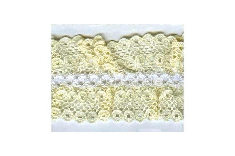 RUFFLE LACE GALLON. 010