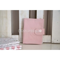 PLAIN PINK DOCUMENT HOLDER