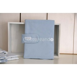 PLAIN BLUE DOCUMENT HOLDER