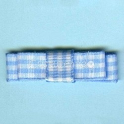 GINGHAM BOW APPLIQUE 002